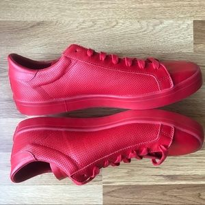 Nuove adidas corte vantage Uomo scarpe 12 rosso poshmark
